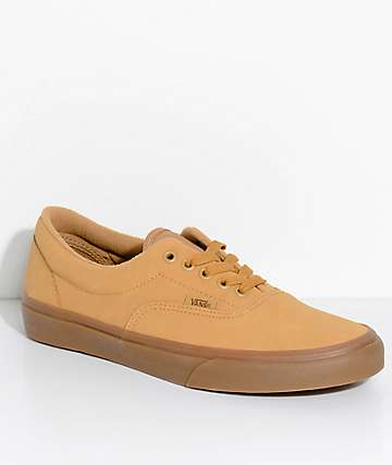 Vans Era Vansbuck Mono Light Gum Skate Shoes