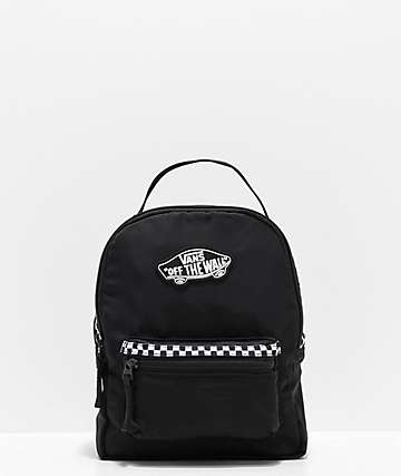 751369b7f Vans Expedition 2 Black   Microcheckerboard Mini Backpack