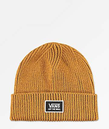 Vans Falcon Rubber Brown Beanie