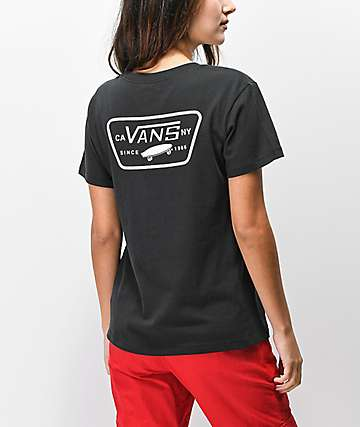 Vans Full Patch Black T-Shirt