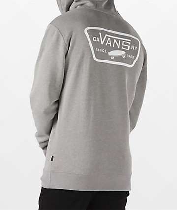 Vans Full Patched II Grey Hoodie