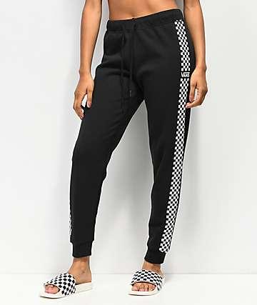 Vans Funday pantalones deportivos negros