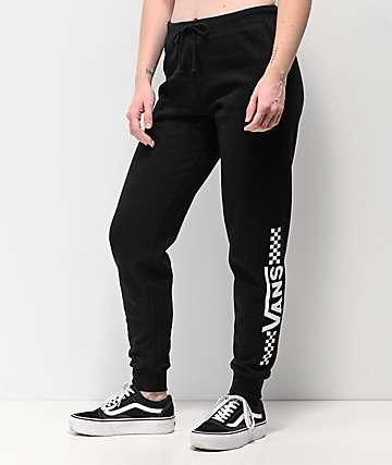 5704b771b37 Vans Funnier Times Black Sweatpants