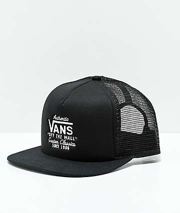 Vans Galer Black Trucker Hat