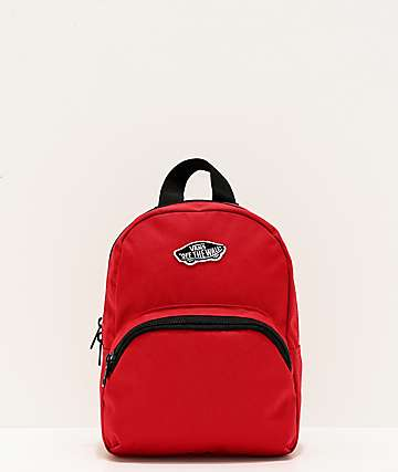Vans Got This Red Mini Backpack