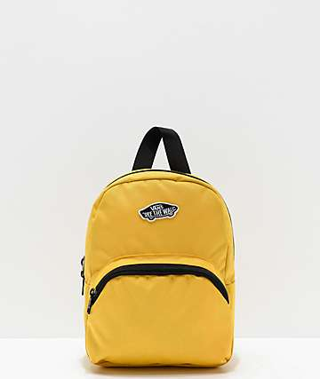 Vans Got This Yellow Mini Backpack