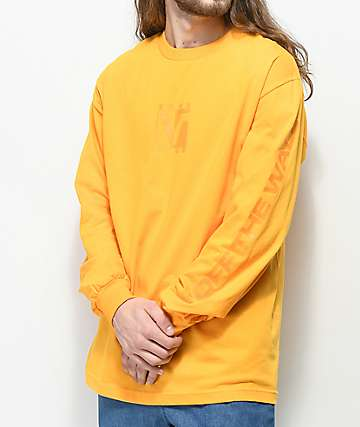 Vans Grand V Matte Gold Long Sleeve T-Shirt