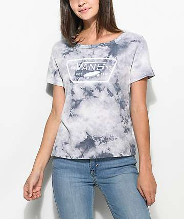 Vans Grey Ridge Full Patch Cloudwash T-Shirt