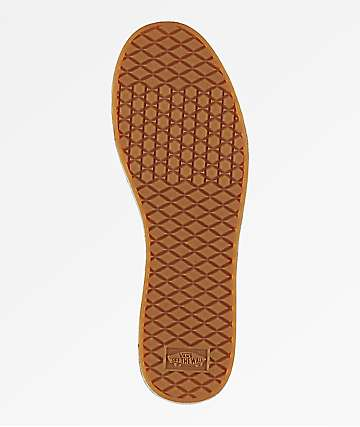 Vans Gum Brown Waffle Sole Left Stomp Pad