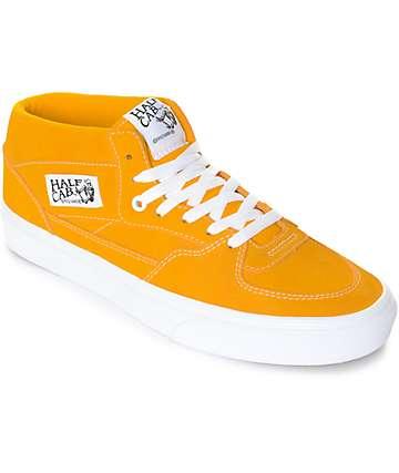 Vans Half Cab Citrus & White Skate Shoes