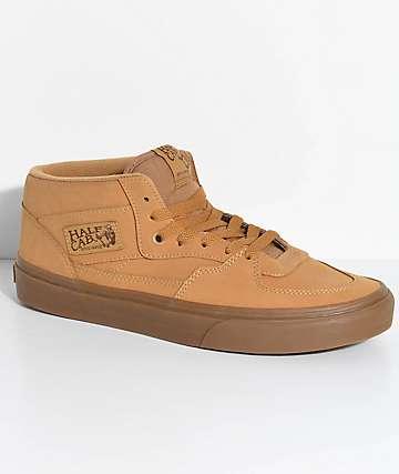 Vans Half Cab Vansbuck zapatos de skate en marrón