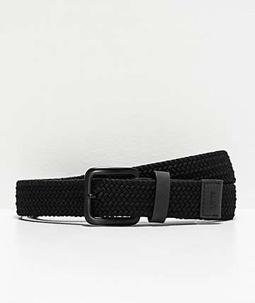 Vans Harington Black Braided Belt