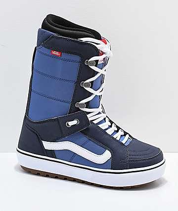 Vans Hi-Standard OG Blue & White Snowboard Boots 2019