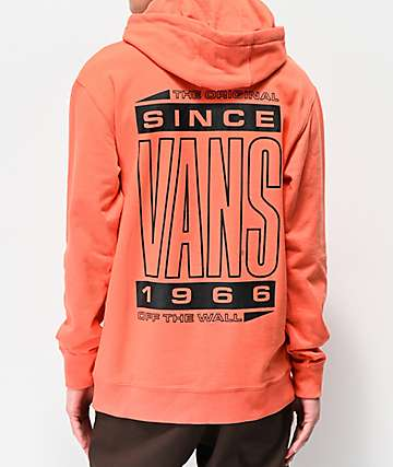 Vans High Type Ember Orange Hoodie