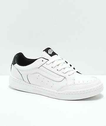 Vans Highland Sporty zapatos de skate en blanco y negro