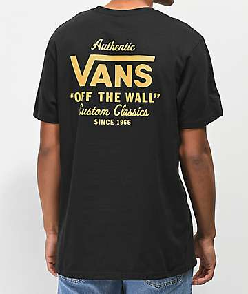 Vans Holder Street II Black T-Shirt