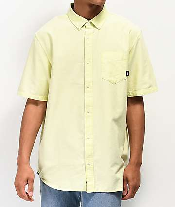 Vans Houser Sunny Lime Short Sleeve Button Up Shirt