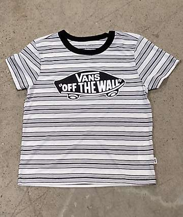 Vans Introduction Black Stripe T-Shirt
