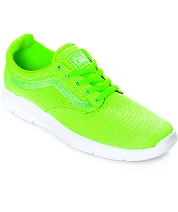 Vans Iso 1.5 Green Gecko Womens Shoes