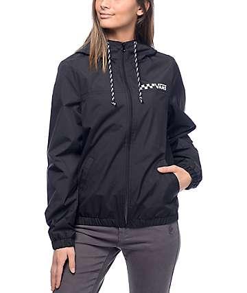 Vans Kastle 1K MTE chaqueta cortavientos en negro