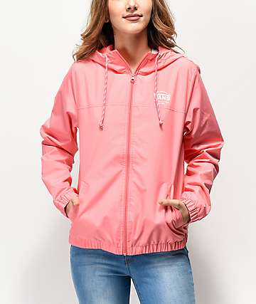 Vans Kastle II Strawberry Pink Windbreaker