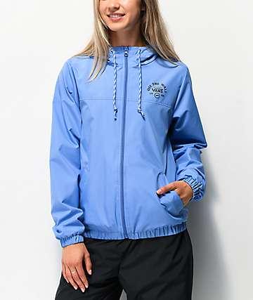 Vans Kastle Ultramarine Blue Windbreaker Jacket