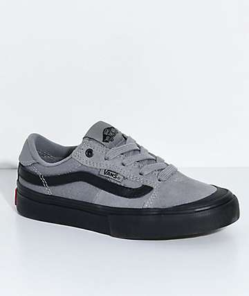 Vans Kids 112 Gunmetal & Black Skate Shoes