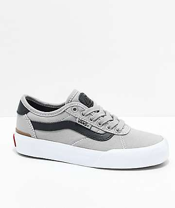 Vans Kids Chima Pro 2 Drizzle & Black Skate Shoes