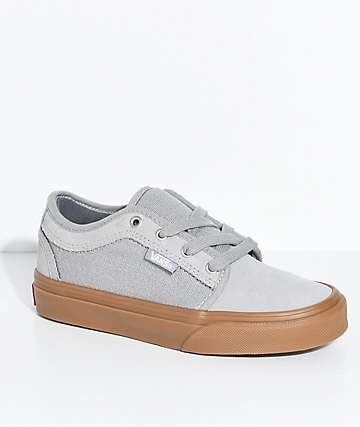 Vans Kids Chukka Low Drizzle & Gum Shoes