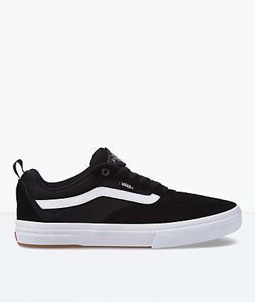 Vans Kyle Walker Pro Black & White Skate Shoes