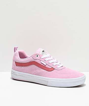 Vans Kyle Walker Pro Lilac Snow & Mineral Red Skate Shoes