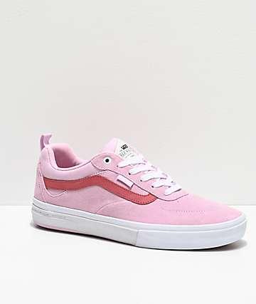 Vans Kyle Walker Pro Lilac Snow & Mineral Red Skate Shoes