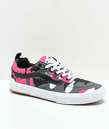Vans Kyle Walker Pro zapatos de camuflaje negro y rosa