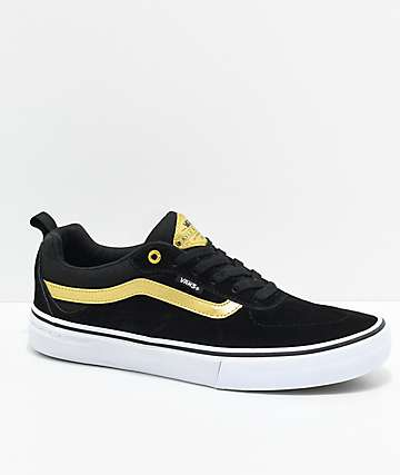 Vans Kyle Walker Pro zapatos de skate en negro y oro metálico