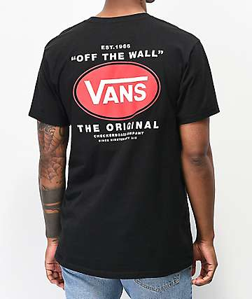 Vans Lamark Black T-Shirt