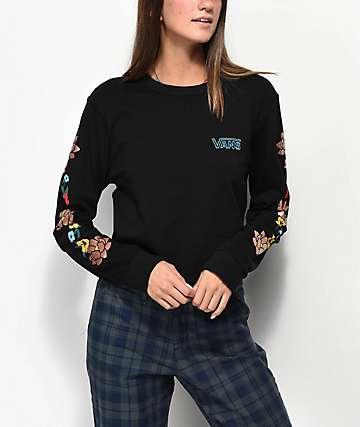 Vans Lizzie camiseta floral de manga larga