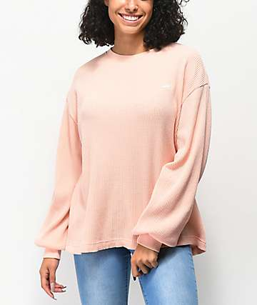 Vans Lorraine Rose Cloud Thermal Long Sleeve Top
