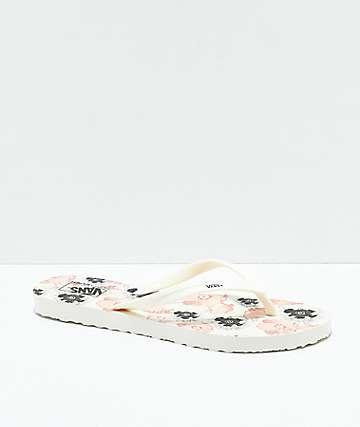 Vans Makena California Poppy Sandals