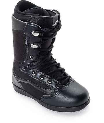 Vans Mantra Black Snowboard Boots