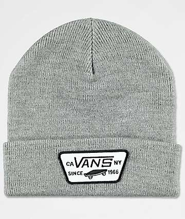Vans Milford Heather Grey Beanie