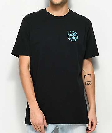 Vans Mini Dual Palm Black T-Shirt