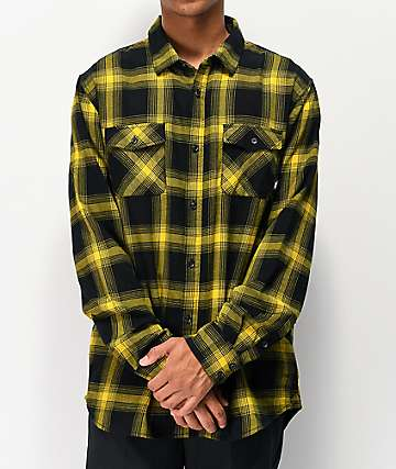 59898b88b10a Vans Monterey III Sulphur Flannel Shirt
