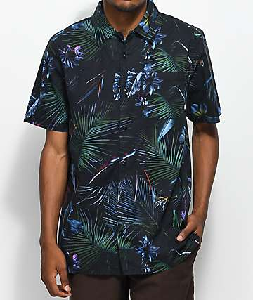 Vans Neo Jungle Black Woven Shirt
