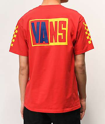 Vans OTW Colorblock & Rally Red T-Shirt