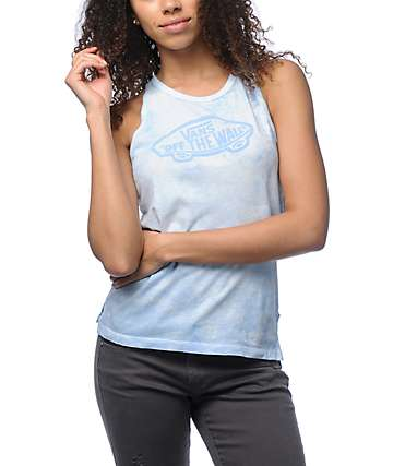 Vans OTW Light Blue Cloudwash Tank Top