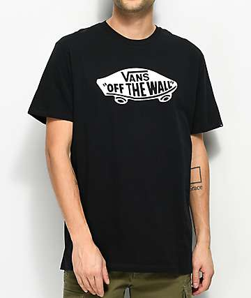 Vans Off The Wall Black & White T-Shirt