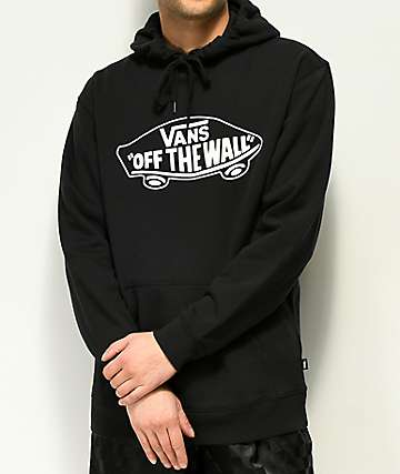 Vans Off The Wall Black Hoodie