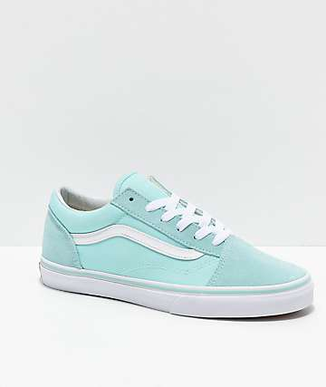 Vans Old Skool Blue Tint Skate Shoes