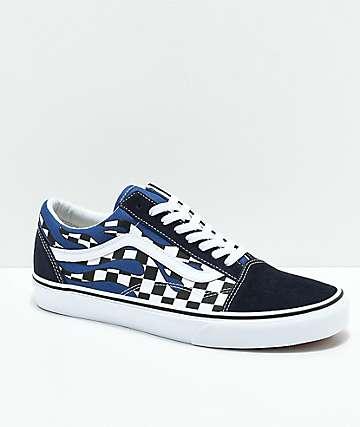 vans shoes blue
