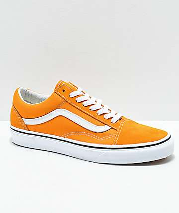 0f192413d1e2a1 Vans Old Skool Cheddar   White Skate Shoes